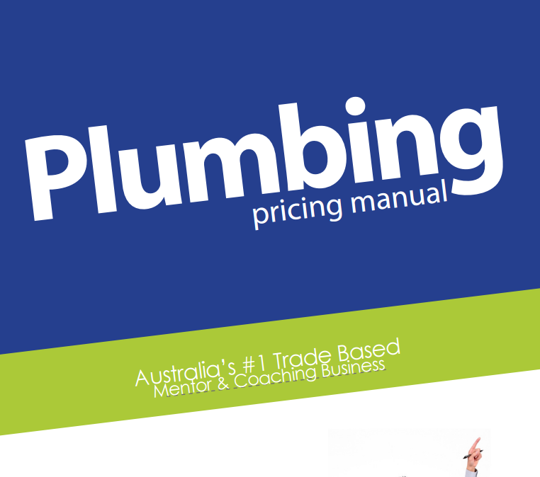 My Lifestyle Tradie An example of the Plumbing Pricing Manual